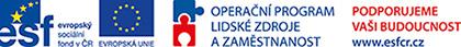 """Projekt Formování profese """"sociokulturní mediátor"""" – inspirace portugalským modelem je podpořen z Evropského sociálního fondu prostřednictvím Operačního programu Lidské zdroje a zaměstnanost"""